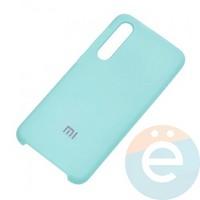 Накладка Silicone cover на Xiaomi Mi 9SE бирюзовая 21