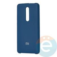 Накладка Silicone cover на Xiaomi Redmi K20/K20 Pro/Mi 9T синяя 20