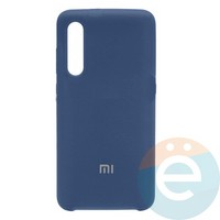 Накладка Silicone cover на Xiaomi Mi A3 синяя 20