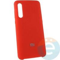 Накладка Silicone cover на Xiaomi Mi A3 красная 14