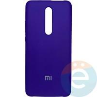 Накладка Silicone cover на Xiaomi Redmi K20/K20 Pro/Mi 9T фиолетовая 36