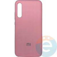 Накладка Silicone cover на Xiaomi Mi A3 розовая 6
