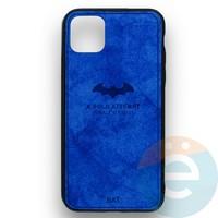 Накладка комбинированная джинсовая BAT для iPhone 11 Pro Max синяя