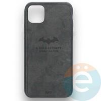 Накладка комбинированная джинсовая BAT для iPhone 11 Pro Max чёрная