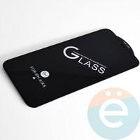 Защитное стекло 11D с полной проклейкой на Apple iPhone X/XS/11 Pro чёрное