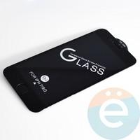 Защитное стекло 11D с полной проклейкой на Apple iPhone 7/8 чёрное