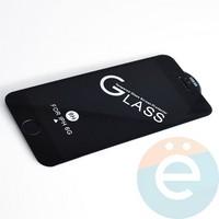 Защитное стекло 11D с полной проклейкой на Apple iPhone 6/6s чёрное