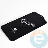 Защитное стекло 11D с полной проклейкой на Apple iPhone XR/11 чёрное