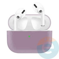 Чехол силиконовый для наушников Apple AirPods Pro ультра-тонкий Purple