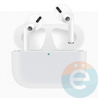 Чехол силиконовый для наушников Apple AirPods Pro ультра-тонкий White