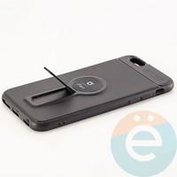 Накладка силиконовая iFace на Apple IPhone 6/6s с металлической пластиной с подставкой