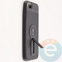 Накладка силиконовая iFace на Apple IPhone 7/8 с металлической пластиной с подставкой