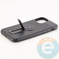 Накладка силиконовая iFace на Apple IPhone 11 Pro с металлической пластиной с подставкой