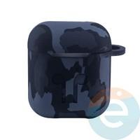 Чехол силиконовый для наушников Apple AirPods 1/2 Flowers design 41