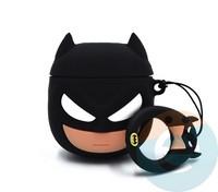 Чехол силиконовый для наушников Apple AirPods 1/2 Бэтмен