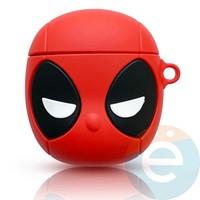 Чехол силиконовый для наушников Apple AirPods 1/2 Человек-паук