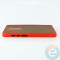 Накладка пластиковая матовая с силиконовой окантовкой для Xiaomi Mi 9T/K20/K20 Pro красная