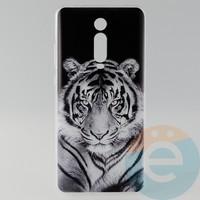 Накладка силиконовая с рисунком для Xiaomi K20 Pro Тигр