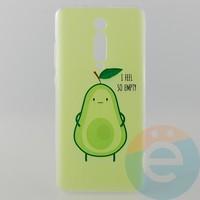 Накладка силиконовая с рисунком для Xiaomi K20 Pro Авокадо