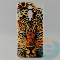 Накладка силиконовая с рисунком для Xiaomi K20 Pro Леопард
