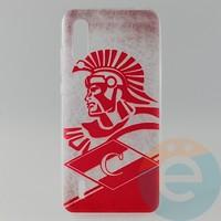Накладка силиконовая с рисунком для Xiaomi Mi 9 Lite Спартак