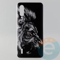Накладка силиконовая с рисунком для Xiaomi Mi 9 Лев