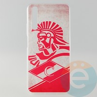 Накладка силиконовая с рисунком для Huawei Honor 20 Спартак