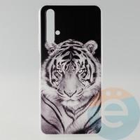 Накладка силиконовая с рисунком для Huawei Honor 20 Тигр