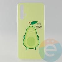 Накладка силиконовая с рисунком для Huawei Honor 20 Авокадо