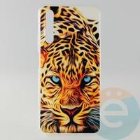 Накладка силиконовая с рисунком для Huawei Honor 20 Леопард