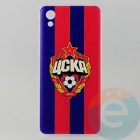 Накладка силиконовая с рисунком для Huawei Honor 8s ЦСКА