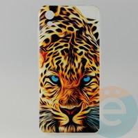 Накладка силиконовая с рисунком для Huawei Honor 8s Леопард