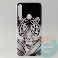 Накладка силиконовая с рисунком для Huawei Honor 9x Тигр