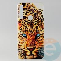 Накладка силиконовая с рисунком для Huawei Honor 9x Леопард