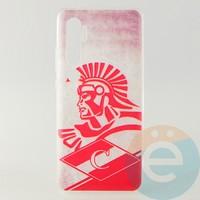 Накладка силиконовая с рисунком для Xiaomi Mi Note 10 Спартак