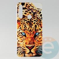 Накладка силиконовая с рисунком для Xiaomi Note 8 Леопард