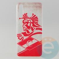 Накладка силиконовая с рисунком для Huawei Honor 20 Lite Спартак