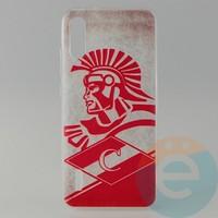 Накладка силиконовая с рисунком для Xiaomi CC9E Спартак