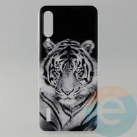Накладка силиконовая с рисунком для Xiaomi CC9E Тигр