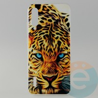 Накладка силиконовая с рисунком для Xiaomi CC9E Леопард