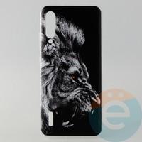 Накладка силиконовая с рисунком для Xiaomi CC9E Лев