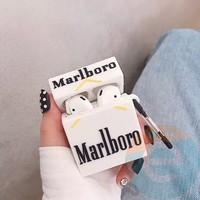 Чехол силиконовый для наушников Apple AirPods Pro Marlboro