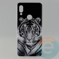 Накладка силиконовая с рисунком для Xiaomi Redmi 7 Тигр