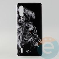 Накладка силиконовая с рисунком для Xiaomi CC9/Mi A3 Lite Лев