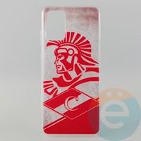 Накладка силиконовая с рисунком для Samsung S11\S20 Plus Спартак