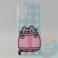 Накладка силиконовая с рисунком для Samsung S11\S20 Plus Пушинка