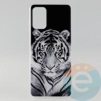 Накладка силиконовая с рисунком для Samsung S11\S20 Plus Тигр