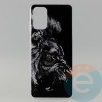 Накладка силиконовая с рисунком для Samsung S11\S20 Plus Лев