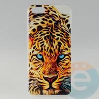 Накладка силиконовая с рисунком для Huawei Y5 2018 Леопард