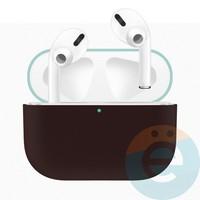 Чехол силиконовый для наушников Apple AirPods Pro ультра-тонкий Coast Blue